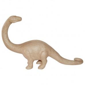 Бронтозавр Фигурка средняя из папье-маше объемная Decopatch