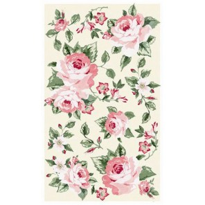 Цветы Роза сандерсон 546 Рисовая декупажная карта Ferrario