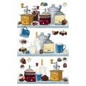 Интерьер Кофе и шоколад 548 Рисовая декупажная карта Ferrario