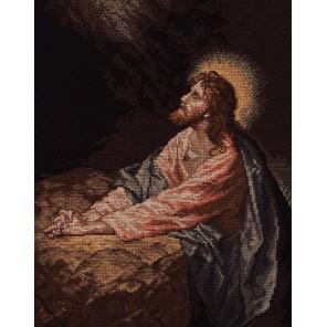 Христос в Гефсиманском саду Набор для вышивания Cчетный крест Bucilla