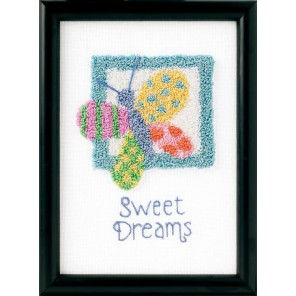 Сладкие сны Набор для вышивания Продергивание Dimensions