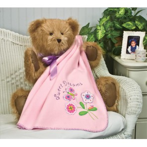Одеяльце, Спокойной ночи! Набор для вышивания Аппликация Dimensions