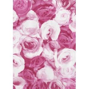 Розы розовые Бумага для декопатча Decopatch