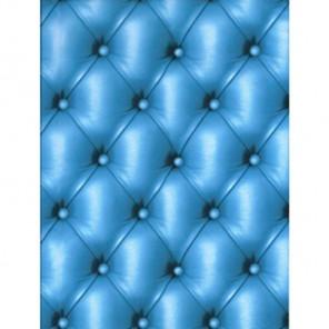 Кожа обивка голубая Бумага для декопатча Decopatch