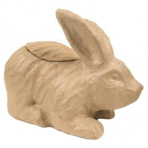 Кролик-ваза Фигурка средняя из папье-маше объемная Decopatch