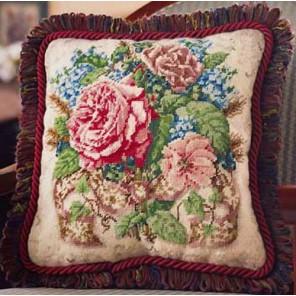 Букет роз Набор для вышивания Гобелен Bucilla
