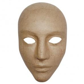 Лицо Маска для декорирования из папье-маше объемная Decopatch
