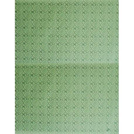Салатовая геометрия Бумага для декопатча Decopatch