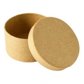 Круглая коробка Заготовка из папье-маше объемная Decopatch