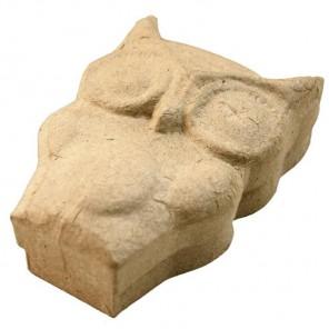 Коробка-сова Заготовка из папье-маше объемная Decopatch