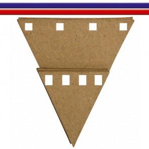 Флаги для создания гирлянды Заготовки из папье-маше Decopatch