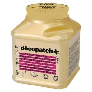 Финишный матовый лак №3 для декопатча Decopatch Aquapro 180 мл