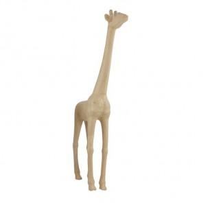 Жираф SLA02 Фигурка большая из папье-маше объемная Decopatch