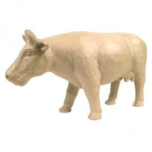 Корова Фигурка большая из папье-маше объемная Decopatch