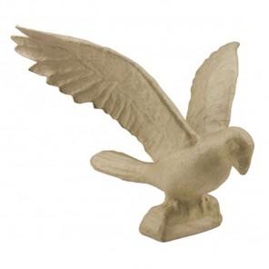 Птица Фигурка большая из папье-маше объемная Decopatch