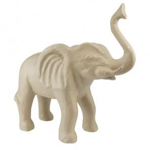 Слон Фигурка большая из папье-маше объемная Decopatch