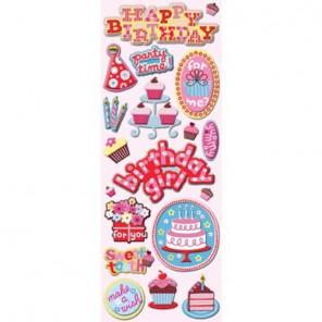 День рождения праздник Чипборд для скрапбукинга, кардмейкинга K&Company