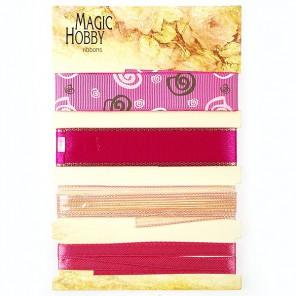 Розовая элегантность Набор лент MAGIC HOBBY