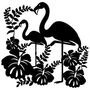 Фламинго Трафарет-силуэт Marabu ( Марабу )