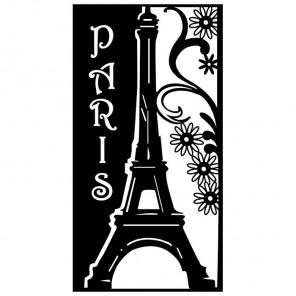 Париж Трафарет-силуэт Marabu ( Марабу )