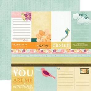 Hello, Spring Journaling Бумага для скрапбукинга, кардмейкинга Echo Park Paper