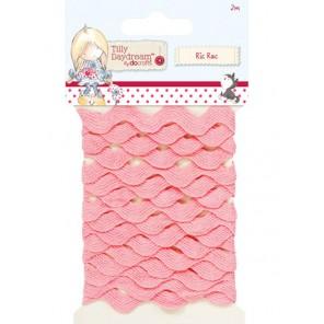 Pink Tilly Daydream Тесьма декоративная для скрапбукинга, кардмейкинга Docrafts