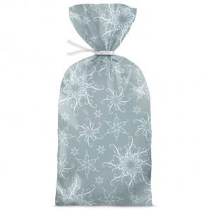 Блеск и веселье серебро Набор подарочных пакетов 20 шт Wilton ( Вилтон )