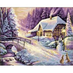 Зима Раскраска по номерам Schipper (Германия)