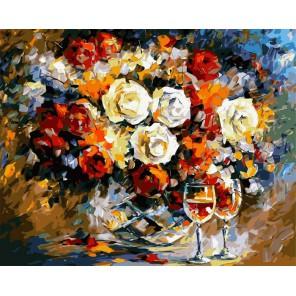 Романтический вечер Раскраска (картина) по номерам акриловыми красками на холсте Iteso