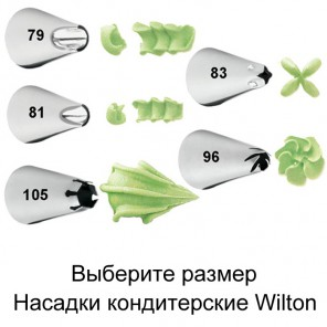 Специальная Насадка для кондитерского мешка Wilton ( Вилтон )