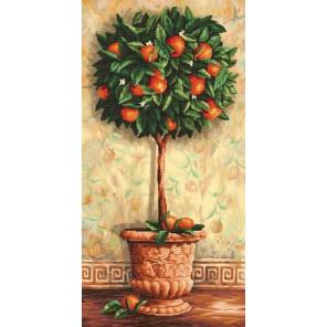 Апельсиновое дерево  Алмазная частичная вышивка (мозаика) Color Kit
