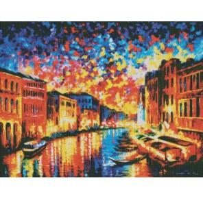 Гранд канал Венеция Раскраска картина по номерам акриловыми красками на холсте Color Kit