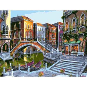 Рассветная Венеция Раскраска картина по номерам на холсте Color Kit