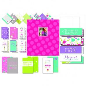 Розовый Project Life Набор для создания альбома K&Company