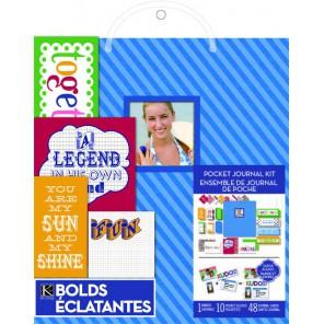 Голубой Project Life Набор для создания альбома K&Company