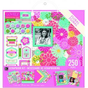 Цветочный Набор для создания альбома K&Company