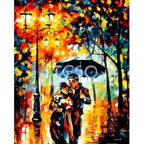Наедине с любимым Раскраска (картина) по номерам акриловыми красками на холсте Iteso