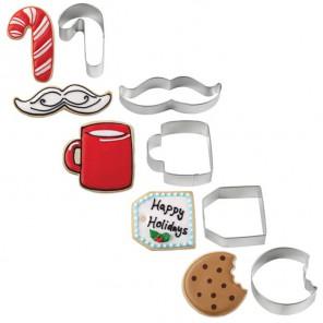 Печенье для Санты Формочки для вырезания печенья Wilton ( Вилтон )