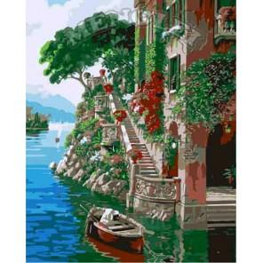 Венецианская лесенка Раскраска по номерам акриловыми красками на холсте Menglei