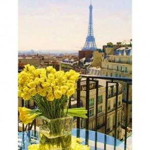 Париж. Желтые розы Алмазная вышивка (мозаика) Гранни