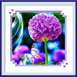 Краски лета Алмазная частичная вышивка (мозаика) Color Kit