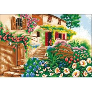 Лето Алмазная вышивка (мозаика) Color Kit