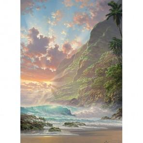 Остров днем Алмазная вышивка (мозаика) Гранни