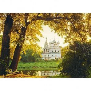 Церковь на закате Алмазная вышивка (мозаика) Гранни