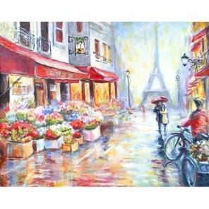 Вдвоем по Парижу Алмазная вышивка (мозаика) Гранни