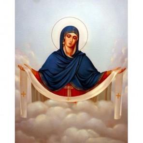 Покров Пресвятой Богородицы Алмазная вышивка (мозаика) Гранни