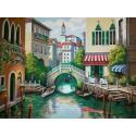 Городской канал 91303 Раскраска по номерам Dimensions