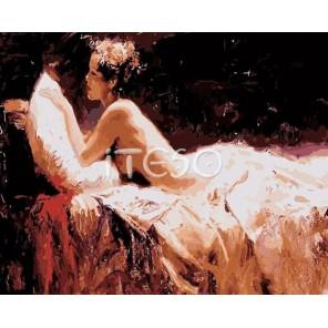 Красота и женственность Раскраска (картина) по номерам акриловыми красками на холсте Iteso