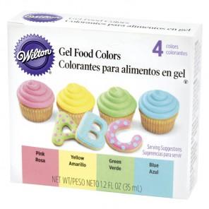 Пастельные цвета Набор красителей для теста и глазури Wilton ( Вилтон )