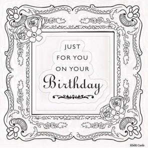 Рамка-картина Bellissima Набор штампов для скрапбукинга, кардмейкинга Docrafts